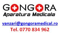 Contact vanzari@gongoramedical.ro tel 0770 834 962